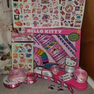 Hello Kitty craft lot